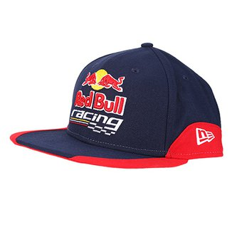 Boné New Era Red Bull Racing Aba Reta 950 Of Sn Curves 9611c10e040