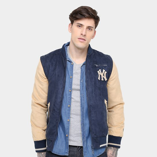 Jaqueta New York Yankees New Era 2 Em 1 Varsity 1 Masculina - Compre ... d5e635ce04a