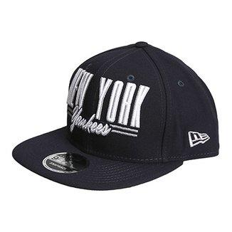 Boné New Era MLB New York Yankees Aba Reta 950 Of Sn Announce Masculino 590d6f8e49b