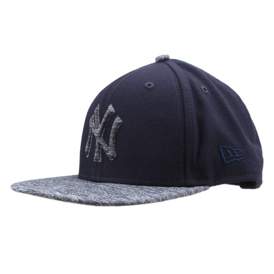 Boné New Era MLB New York Yankees Aba Reta 950 Of Sn Shadow Filled - Marinho b695c8fa31e