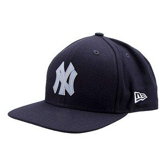 79449d98d956e Boné New Era MLB New York Yankees Aba Reta 950 Of Sn Lic987 Su