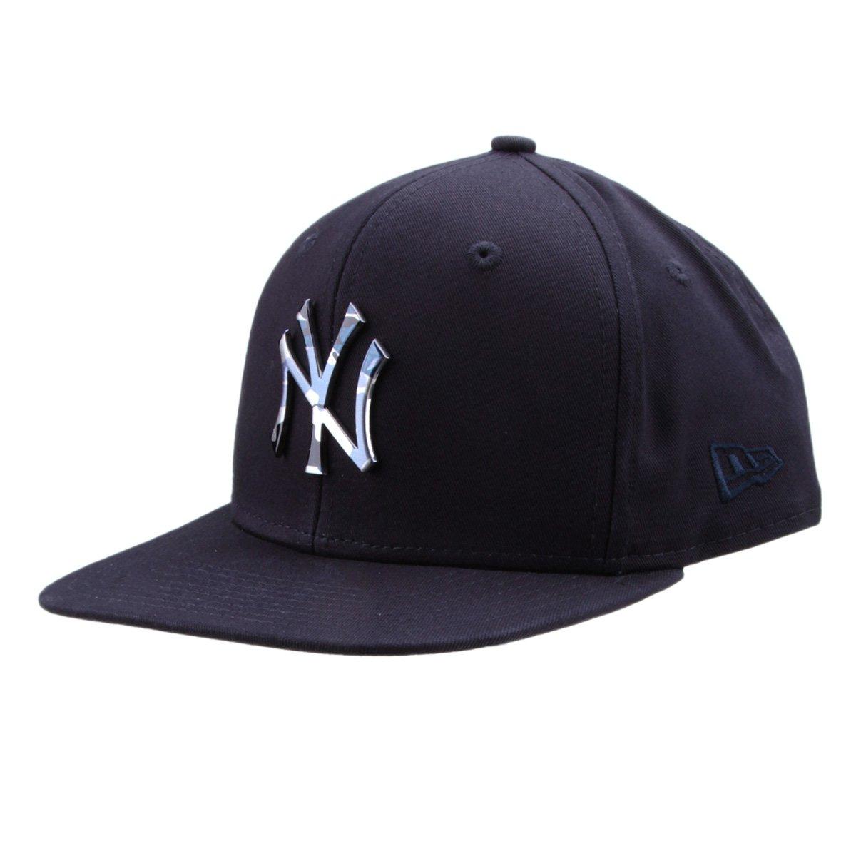 Boné New Era MLB New York Yankees Aba Reta 950 Of Sn Lic981 Su ... f9156ba4017