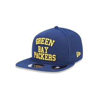 Boné 950 Original Fit Green Bay Packers NFL Aba Reta Snapback New Era e61a1a238e3