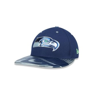 3c4a097bd1 Boné 5950 Seattle Seahawks NFL Aba Reta New Era
