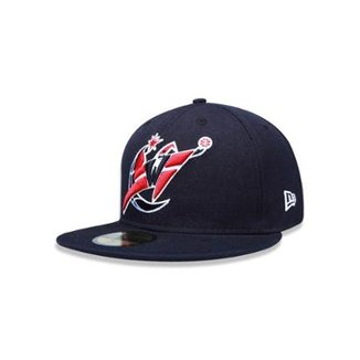ce9ba496945 Bone 5950 Washington Wizards NBA Aba Reta New Era