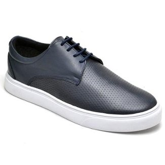 753787a45b Tênis D R Shoes Casual em Couro Feminino