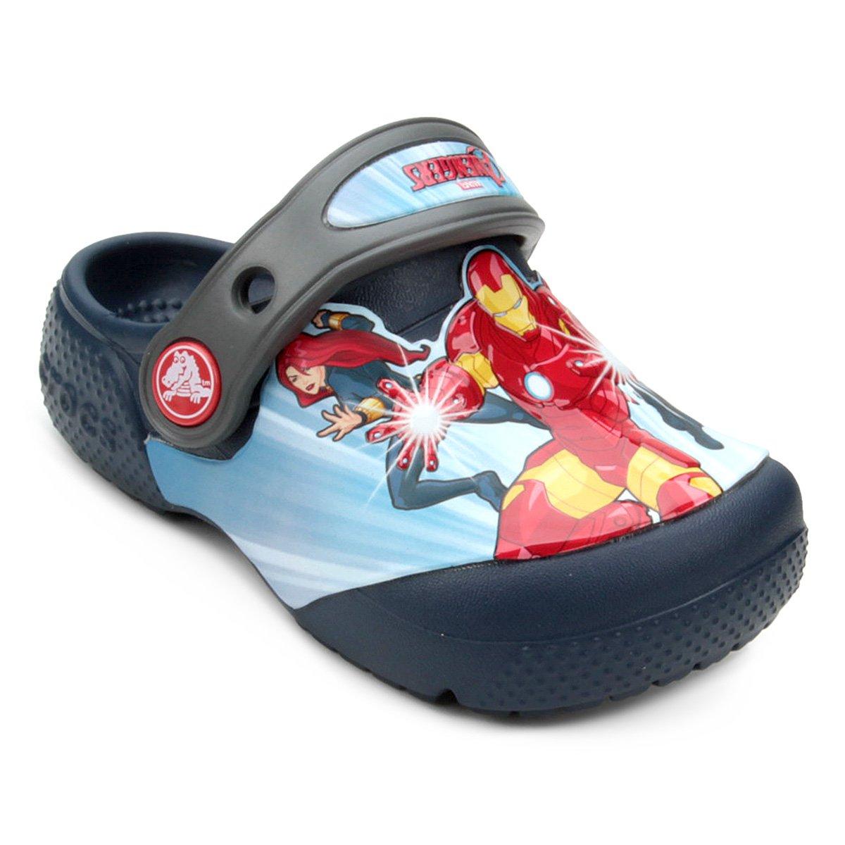 50878a383 Sandália Crocs Os Vingadores