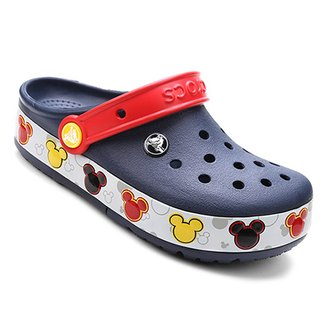 36951226d Sandália Infantil Crocs Lights Mickey Clog