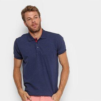 Camisa Polo Gangster Piquet Com Elastano Masculina 93d57144cbf