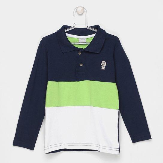 c52a8870d6 Camisa Polo Infantil Marlan Manga Longa Masculina - Compre Agora ...