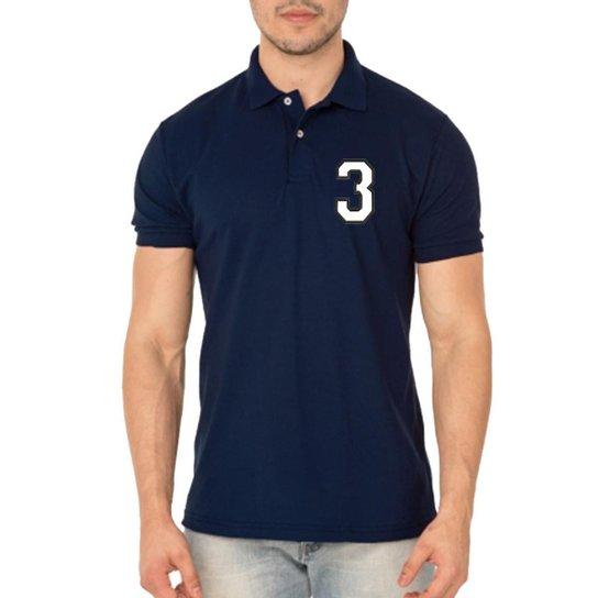 276f9896a3 Camisa Polo Aramis Triztam 25 - Marinho - Compre Agora