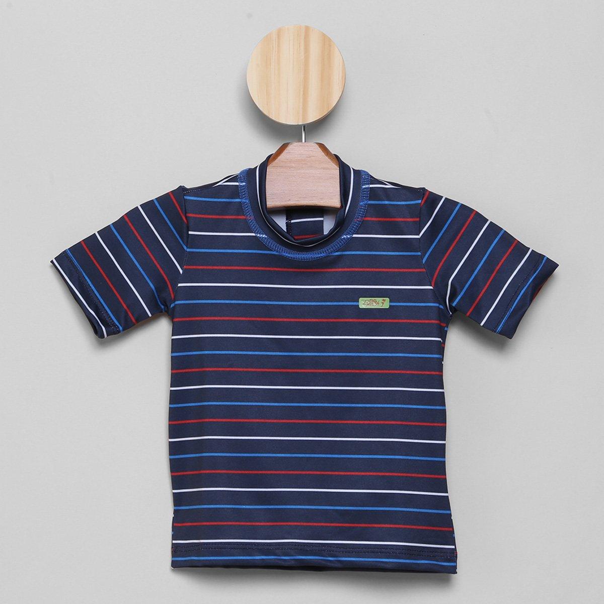 Camiseta Juvenil Boca Grande Proteção UV 50+ Masculina