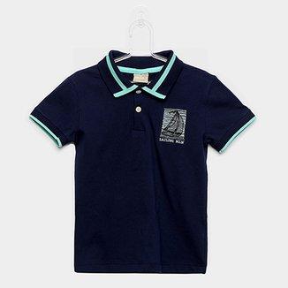 Camisa Polo Infantil Milon Sailing Masculina 513a734890208