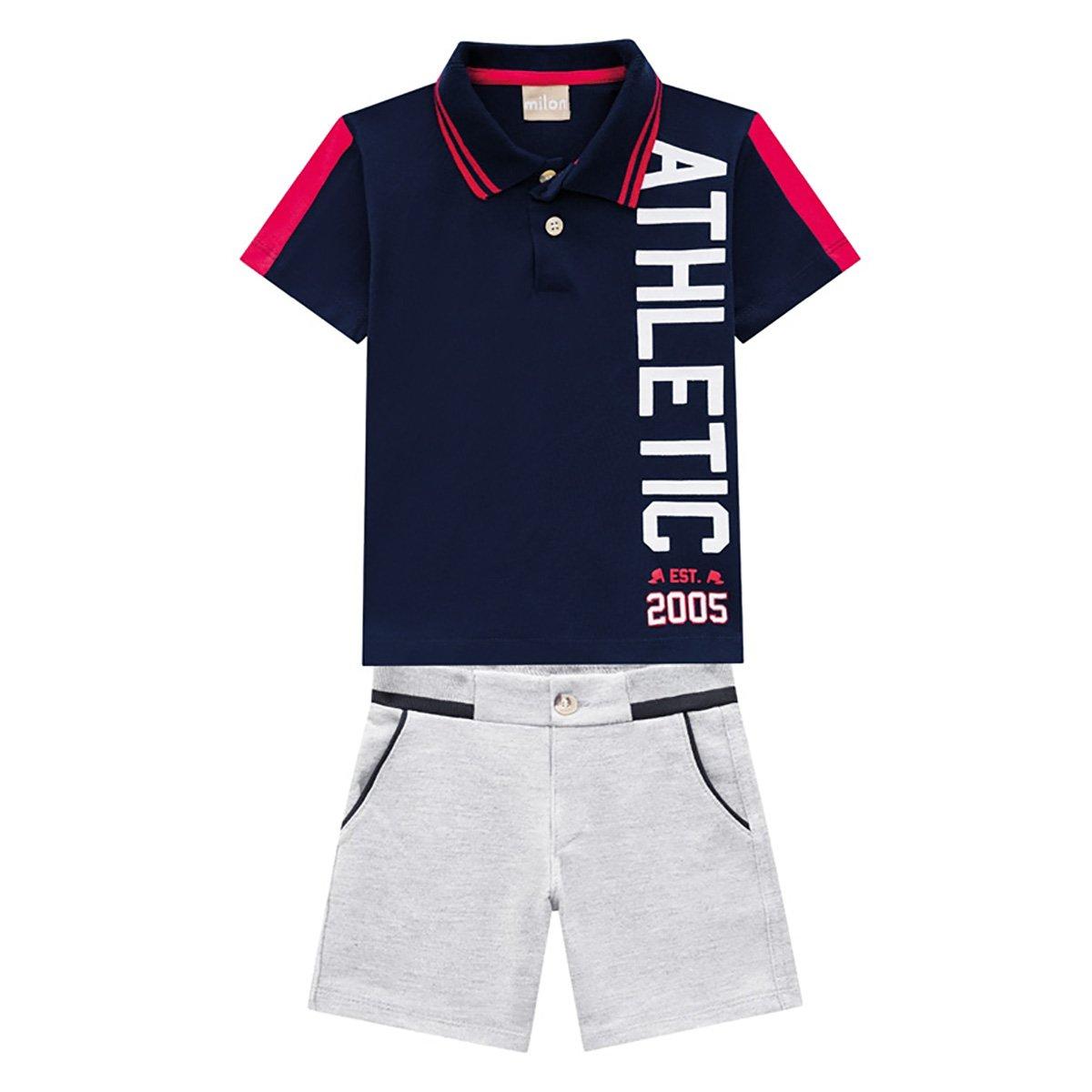 Conjunto Bebê Milon Athletic Masculino