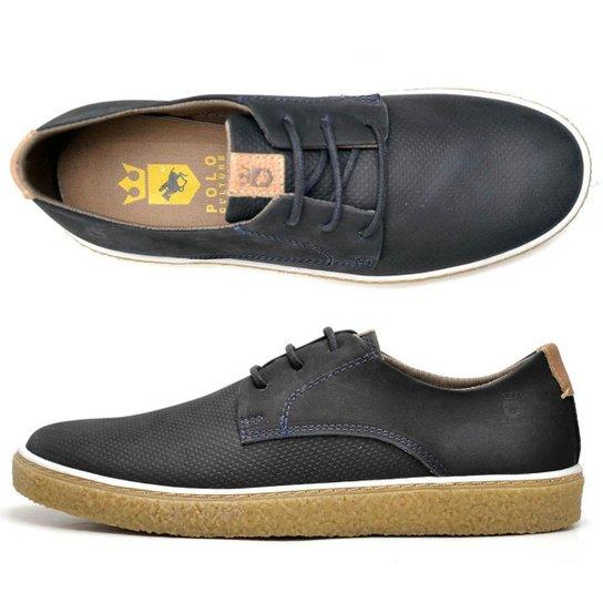 374da7cc39 Sapato Sapatênis Masculino Polo Culture Em Couro - Compre Agora ...