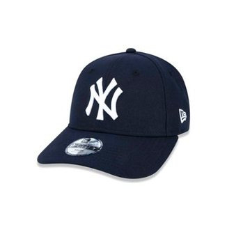 Boné 940 New York Yankees MLB Aba Curva Strapback New Era 63b09bfe2d7