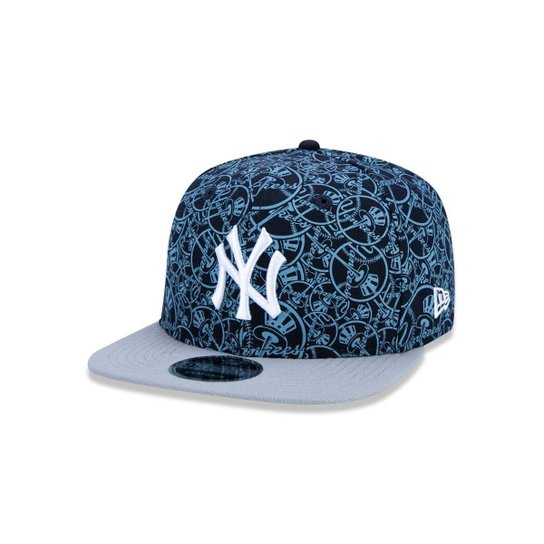 e45aec59c1 Boné 950 Original Fit New York Yankees MLB Aba Reta Snapback New Era -  Marinho