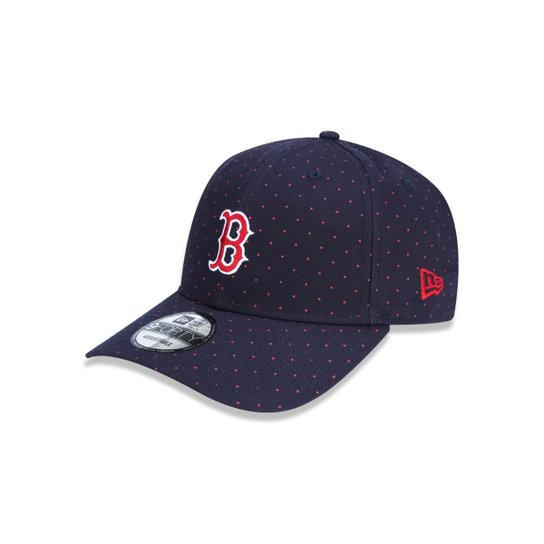 3798dd1b98345 Boné 940 Boston Red Sox MLB Aba Curva Snapback New Era - Marinho ...