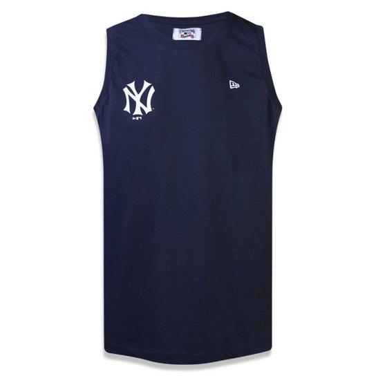 Regata New York Yankees MLB New Era Masculina - Marinho - Compre ... 297bd14c9b42e