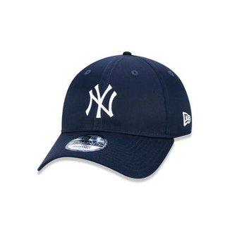 Boné 920 New York Yankees MLB Aba Curva Strapback New Era ff4c8173c1d72