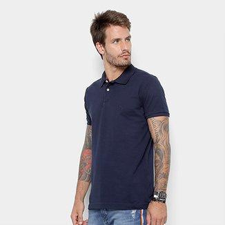 bd996f386a Camisa Polo Acostamento Básica Masculina