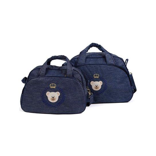d572d3a1b2 Kit Bolsa Maternidade Rica Baby - Compre Agora