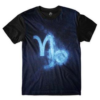 d681125a250d3 Camiseta BSC Signos Galáxia Capricórnio Sublimada Masculina