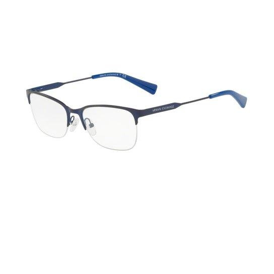 d488c9580a8 Armação Óculos Armani Exchange AX1023 6097 - Marinho - Compre Agora ...