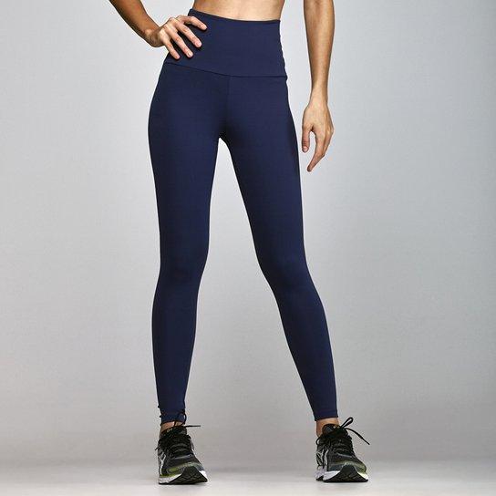 10684fbe9 Calça Legging Emana Fitness Body Show Cós Alto - Marinho - Compre ...