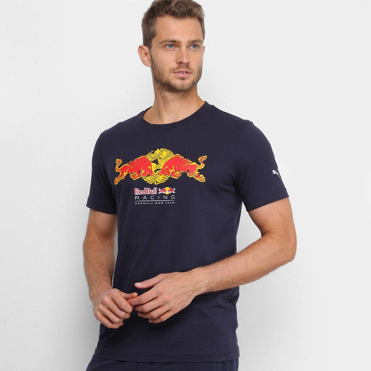 Camiseta Puma Red Bull Racing Masculina