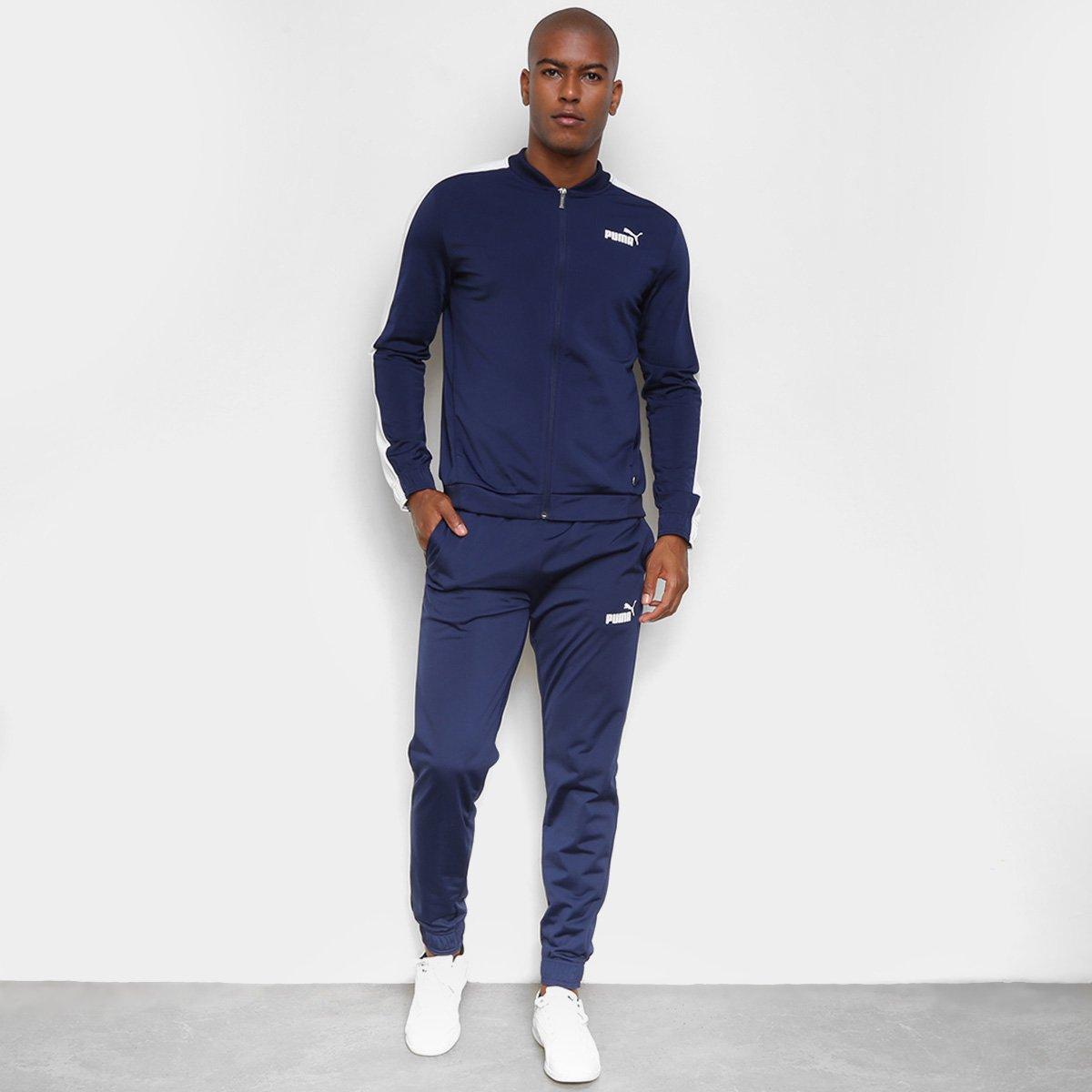 Conjunto Puma Baseball Tricot Suit Masculina