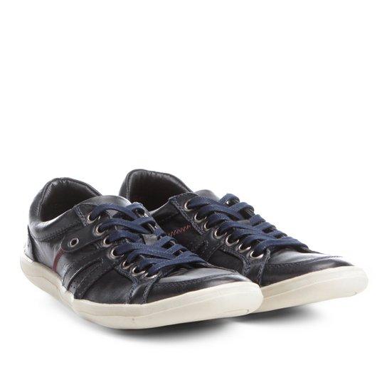 482233c544 Sapatênis Couro Shoestock Ilhós Masculino - Compre Agora