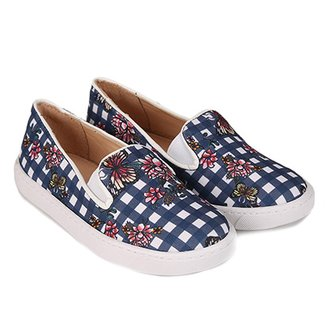 Slip On Infantil Shoestock Estampado Feminino