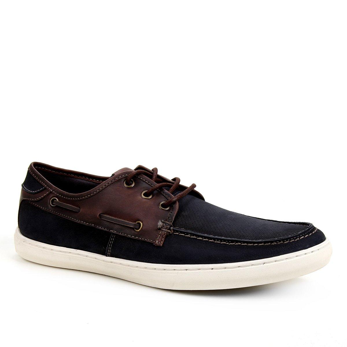 Sapato Casual Shoestock Dockside Stoned Masculino
