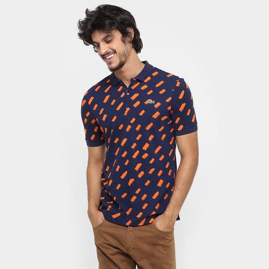 Camisa Polo Lacoste Live Piquet Full Print - Compre Agora   Zattini 4c9b5d109c