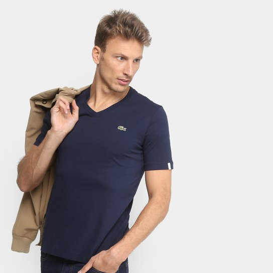 88716491223b8 Camiseta Lacoste Live Manga Curta Masculina - Compre Agora   Zattini
