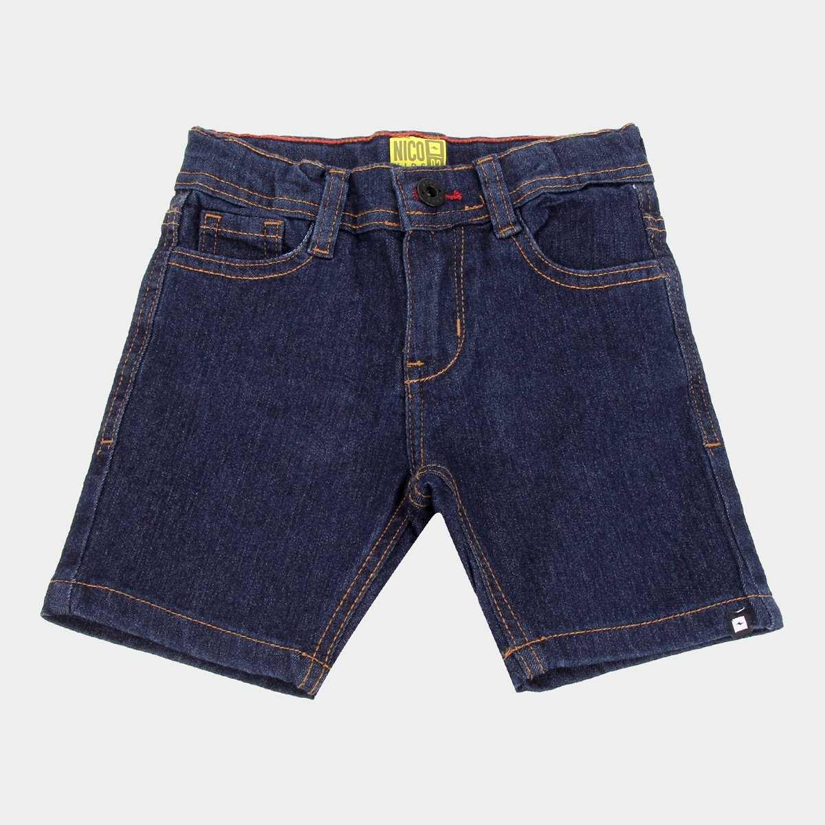 Bermuda Jeans Infantil Nicoboco Sinoloa Masculina