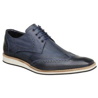 c7130d6c1a Sapato Casual Couro Oxford Malbork Masculino