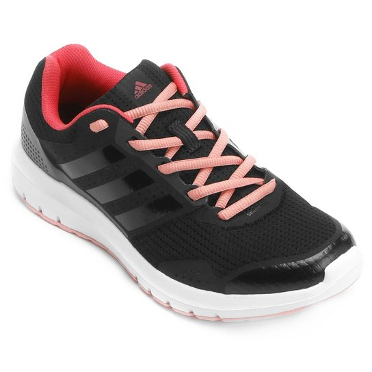 hot sale online e8a1b 4f8f9 Tênis Adidas Duramo 7 Feminino - Preto+Rosa