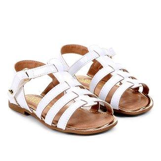 125ff72a45 Sandálias Bibi Menina Branco - Calçados