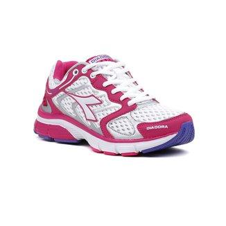 adaf2f5555b Tênis Esporte Feminino Diadora New Stratus Rosa