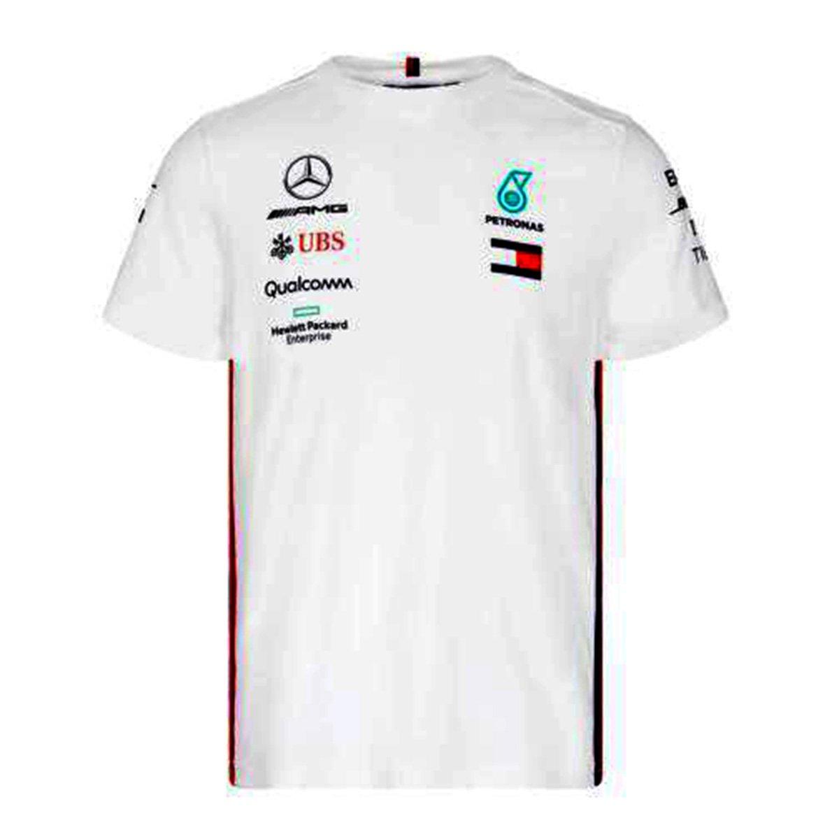 Camiseta Mercedes Oficial 2019 Equipe F1 Masculina