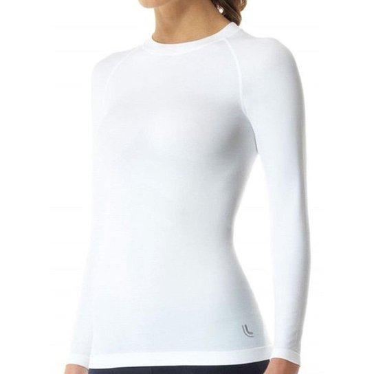 84dca91f5 Camiseta Lupo Sport Térmica I-Core Manga Longa Feminina - Branco ...