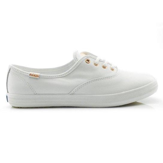 7fedd028f88 Tênis Keds Champion Leather - Branco - Compre Agora