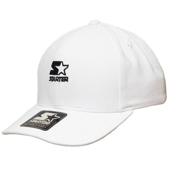 Boné Starter Aba Curva Strapback Mini Logo Colors  Strapback  - Branco 6e156d0b846