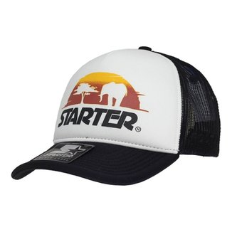Boné Starter Aba Curva Snapback Trucker Africa Sunday e3aa27a32bc