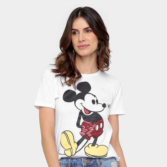 068a5e196 Camiseta Disney Mickey Feminina - Compre Agora