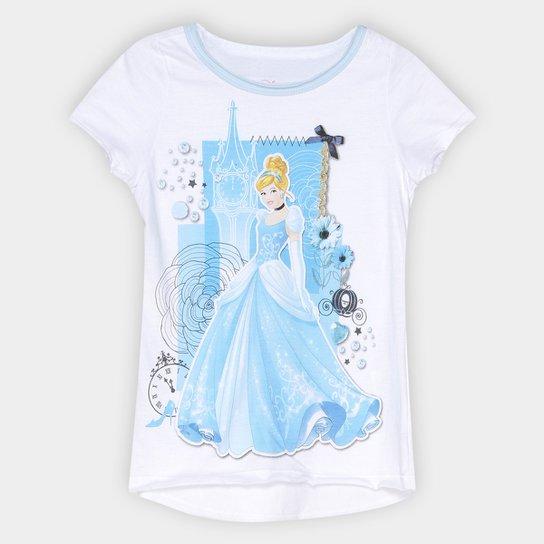 f660dbb75 Camiseta Infantil Disney Cinderela Feminina - Compre Agora