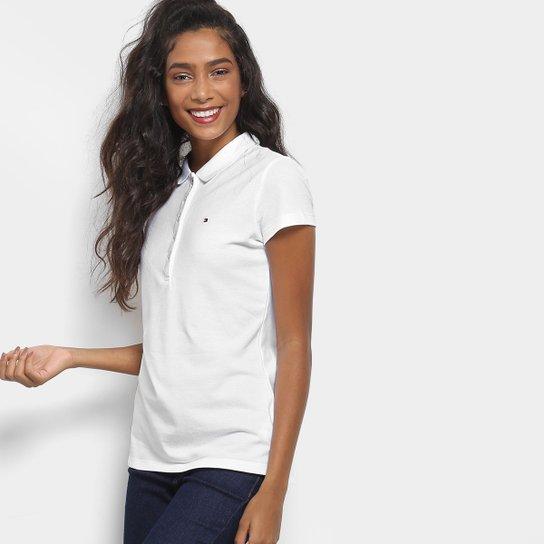 9f662281a2e3a Camisa Polo Tommy Hilfiger Básica Feminina - Compre Agora   Zattini