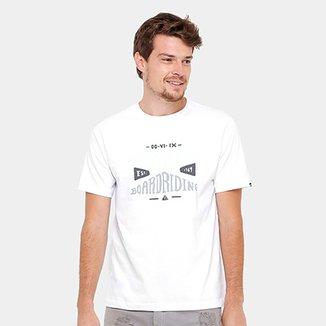 e2d7227efad5a Camiseta Quiksilver Básica Boarding Masculina